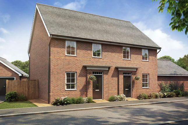 "Thumbnail Duplex for sale in ""Leighton"" at Hamble Lane, Bursledon, Southampton"