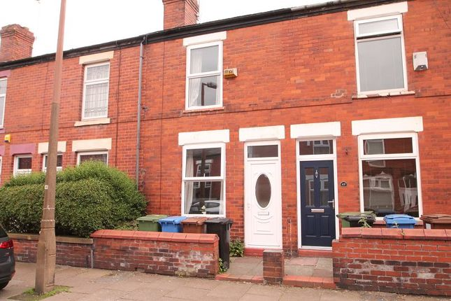 2 bed terraced house to rent in Vienna Road, Stockport