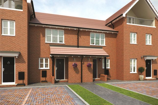 Thumbnail Terraced house for sale in Plot 57 Bowmont Phase 3, Navigation Point, Cinder Lane, Castleford