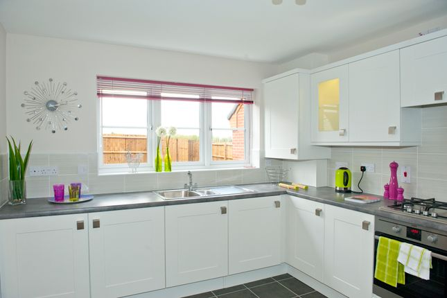 Thumbnail Detached house for sale in Off Thorney Road, Newborough