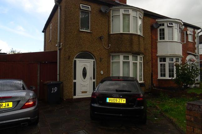 Thumbnail Duplex to rent in Woodland Avenue, Luton