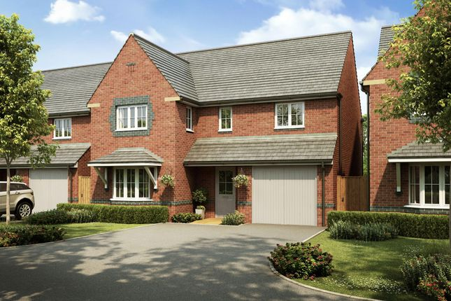 "Thumbnail Detached house for sale in ""Halesowen"" at Church Road, Webheath, Redditch"