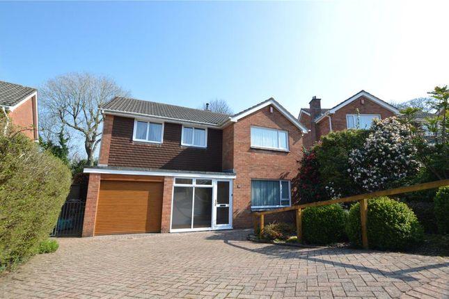 Thumbnail Detached house for sale in Roborough Avenue, Derriford, Plymouth, Devon