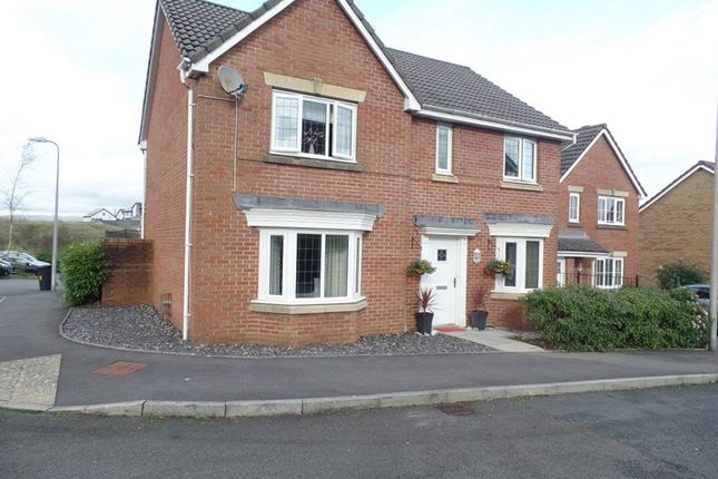 Thumbnail Detached house for sale in Mayors Close, Heolgerrig, Merthyr Tydfil