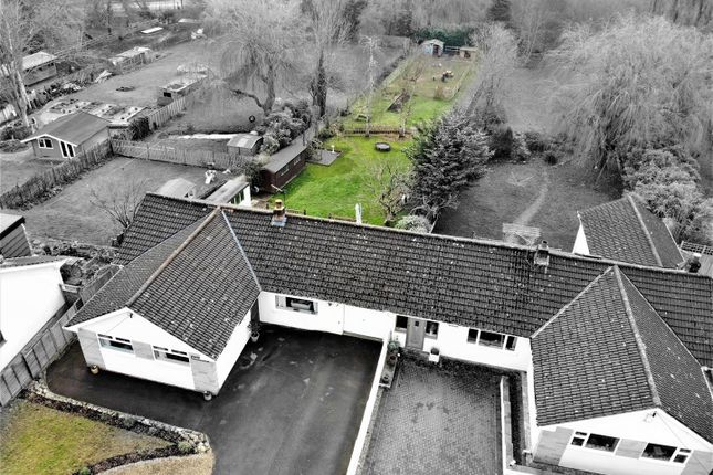 Thumbnail Bungalow for sale in Old Coach Road, Cross, Axbridge