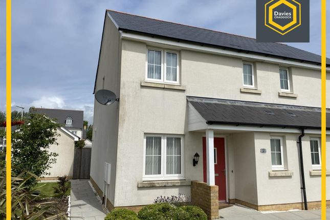 Thumbnail Semi-detached house to rent in Rhes Brickyard Row, Machynys East, Llanelli