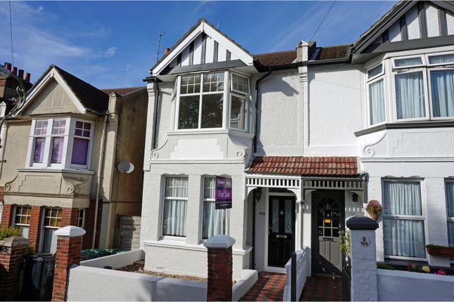 Thumbnail End terrace house for sale in Osborne Road, Brighton
