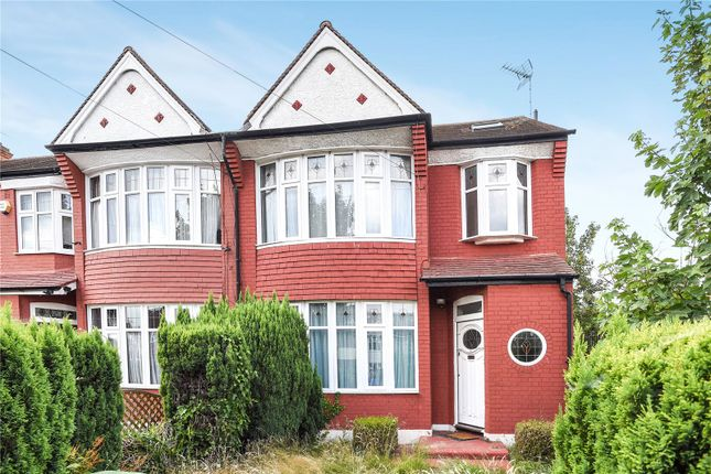 Thumbnail End terrace house for sale in Connaught Gardens, Palmers Green, London