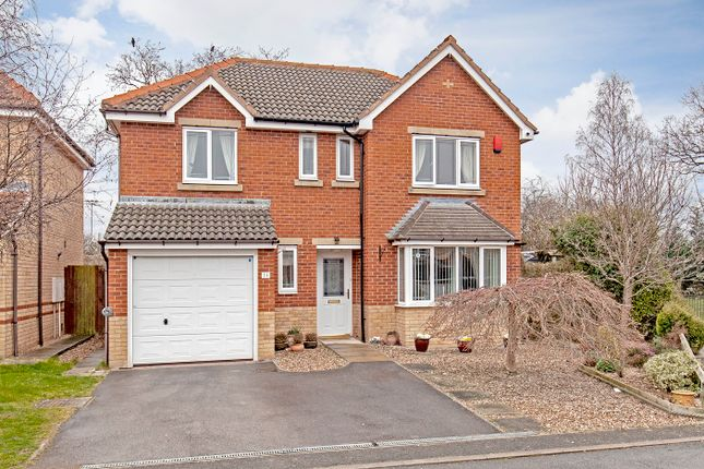 Thumbnail Detached house for sale in Pearson Croft, Chesterfield