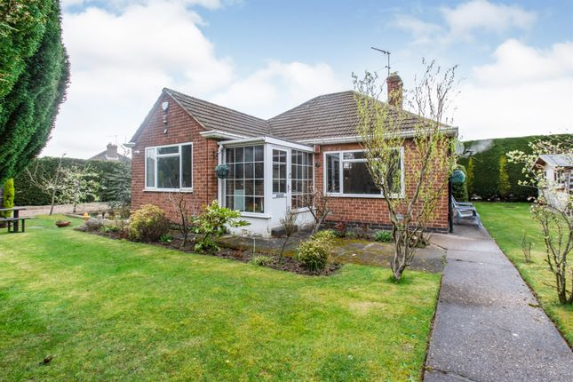 3 bed detached bungalow for sale in Hilary Crescent, Whitwick, Coalville LE67