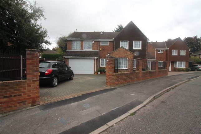 Thumbnail Detached house for sale in Kingston Crescent, Lordswood, Kent