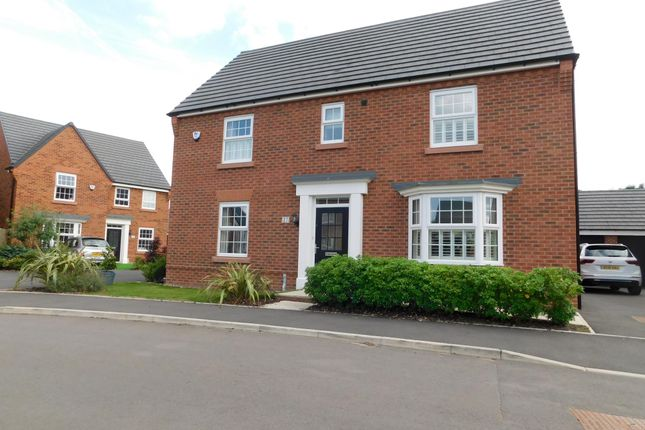 Thumbnail Detached house to rent in Buttonbush Drive, Stapeley, Nantwich