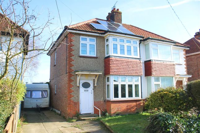 Thumbnail Semi-detached house for sale in Halstead Road, Kirby Cross, Frinton-On-Sea