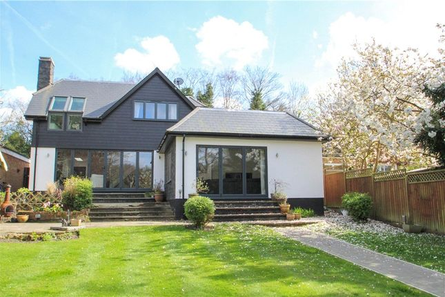 Thumbnail Detached house for sale in Tekels Way, Camberley, Surrey