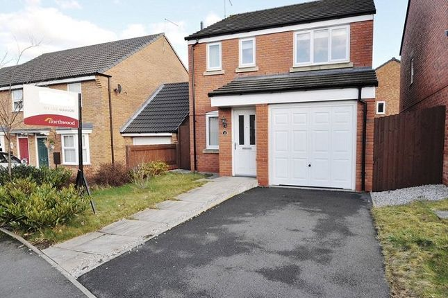 Thumbnail Detached house for sale in Snowgoose Way, Newcastle Under Lyme, Staffordshire