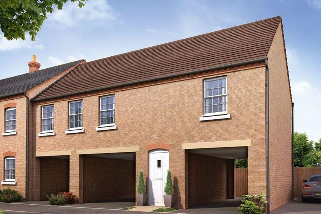 Thumbnail Flat for sale in Orchid Fields, Kempston