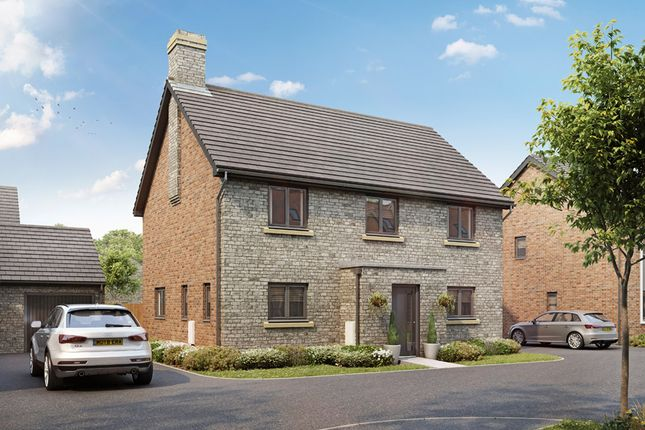 Thumbnail Detached house for sale in Lakeview, Colwell Green, Witney, Oxfordshire
