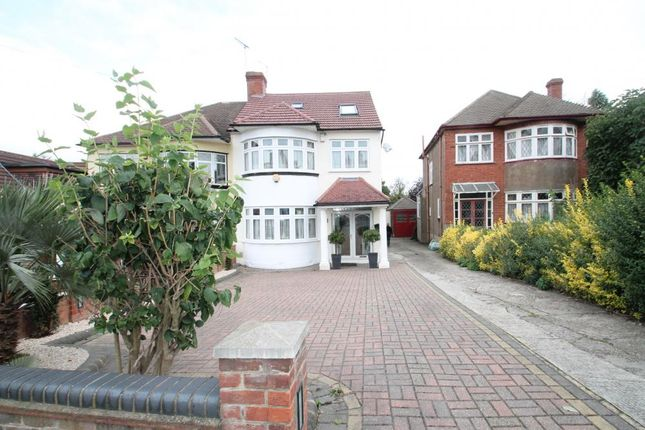 Thumbnail Semi-detached house for sale in Stradbroke Grove, Clayhall, Ilford