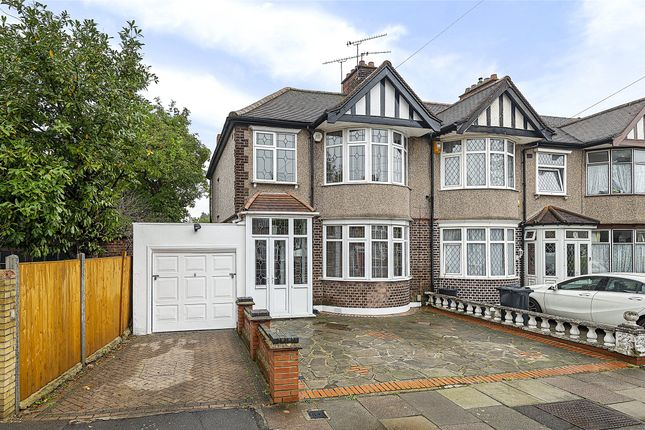 Thumbnail End terrace house for sale in Galsworthy Avenue, Romford