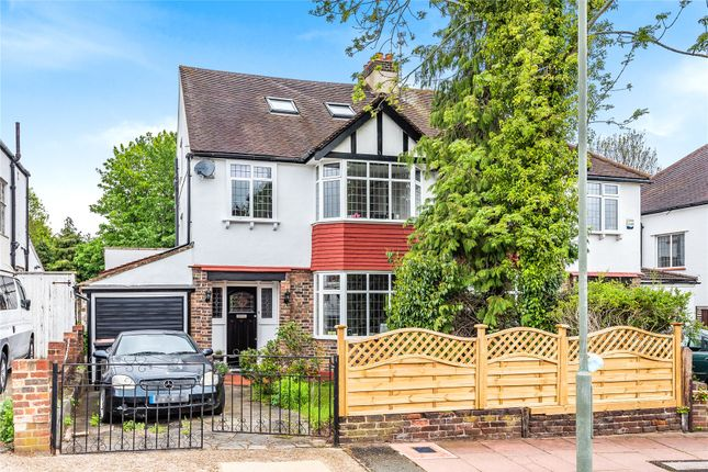 Thumbnail Semi-detached house for sale in Woodland Way, West Wickham