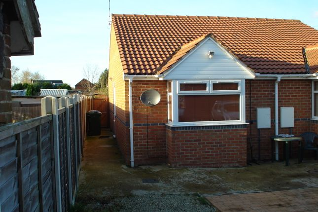 Thumbnail Semi-detached bungalow to rent in Thomas Hall Mews, Dinnington