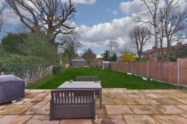 Rear Garden of Ember Lane, Esher KT10