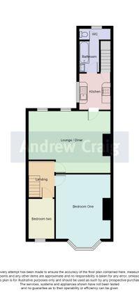 Floor Plan of Nora Street, South Shields NE34