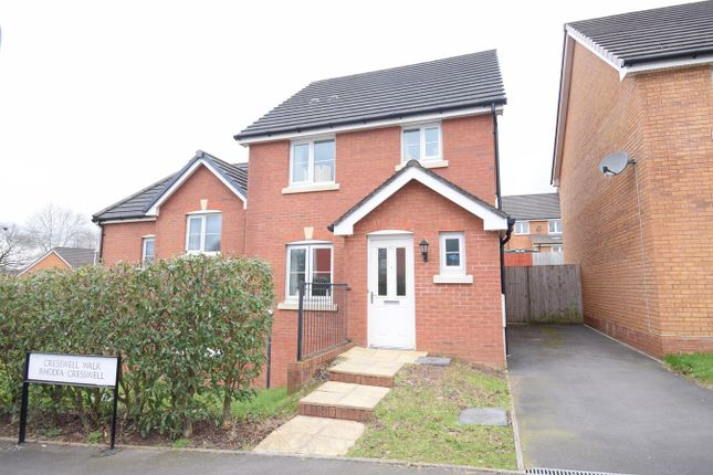 Semi-detached house for sale in Cresswell Walk, St Dials, Cwmbran