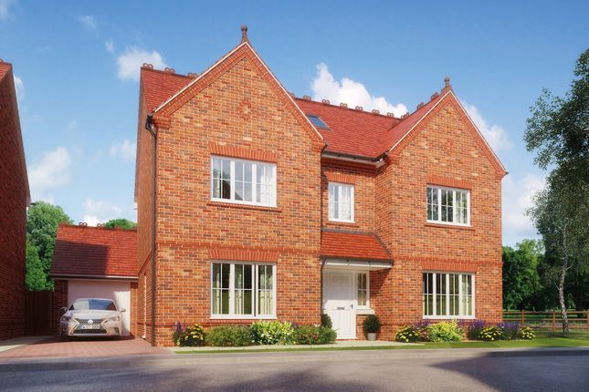 Thumbnail Detached house for sale in Highfield, Off Baldway Close, Wingrave, Aylesbury
