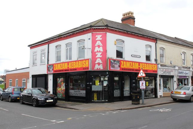 Thumbnail Restaurant/cafe to let in 230-232 Ladypool Road, Birmingham, West Midlands