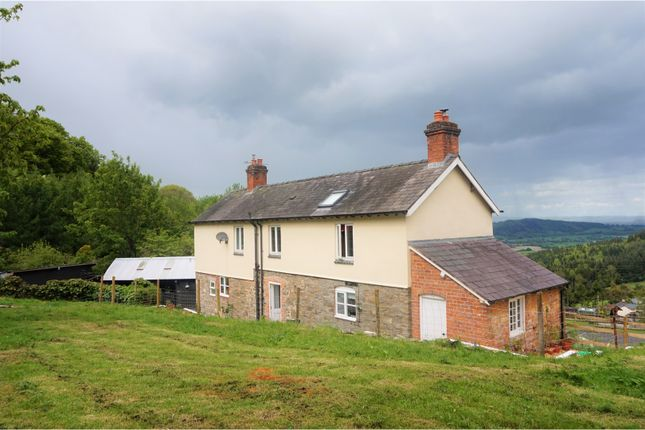 Thumbnail Detached house for sale in Leighton, Welshpool