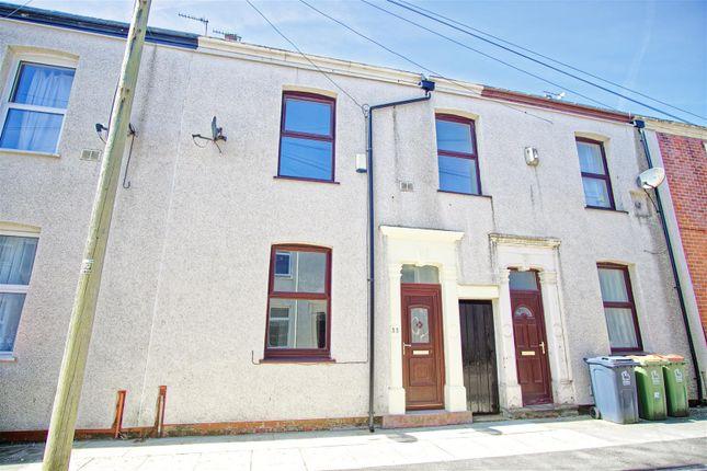 Thumbnail Terraced house for sale in Salisbury Street, Preston