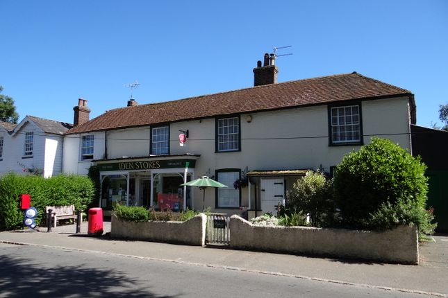Thumbnail Retail premises for sale in Iden, Rye, East Sussex