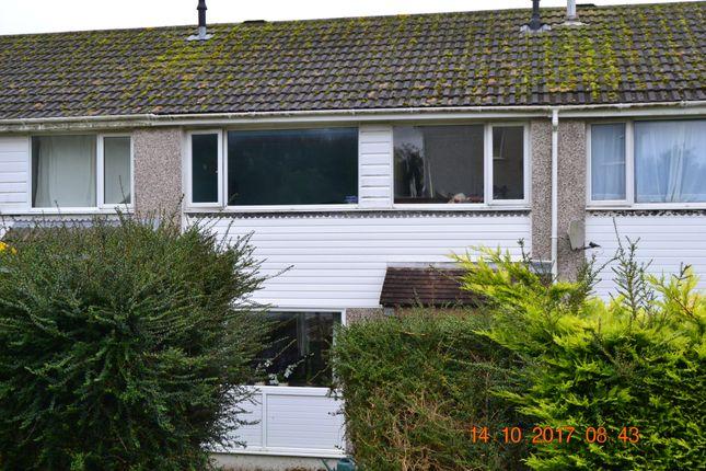 Thumbnail Terraced house to rent in Rapson Road, Liskeard, Cornwall