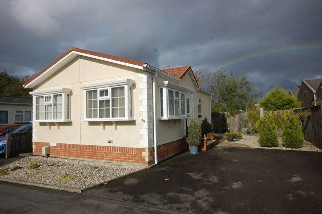 Thumbnail Mobile/park home for sale in Low Carrs Park, Newton Hall, Durham