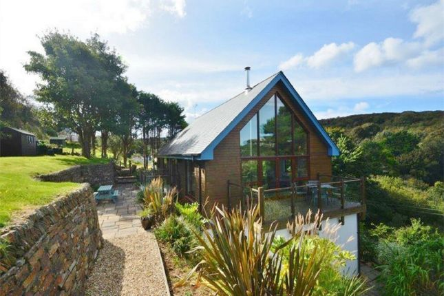 Thumbnail Detached house for sale in Dalewood, Perrancoombe, Perranporth, Cornwall