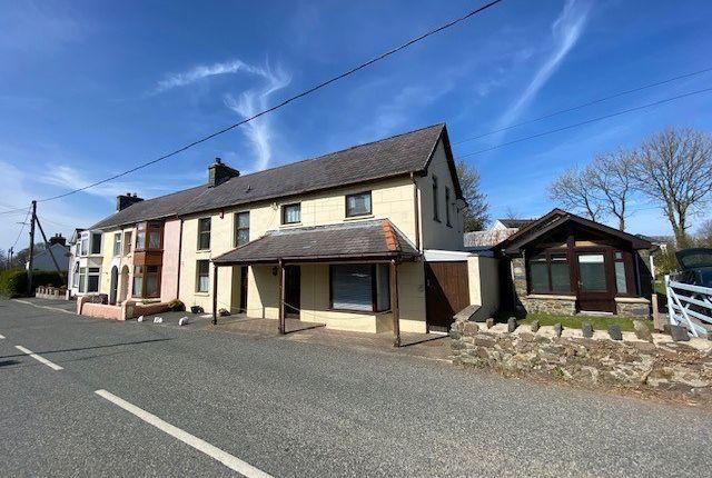 Semi-detached house for sale in Cross Inn, New Quay, Llandysul
