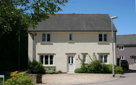 Thumbnail Detached house for sale in Batherm Close, Bampton, Tiverton