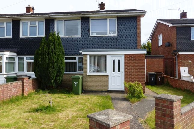 Thumbnail Semi-detached house for sale in Amble Close, Lincoln