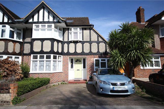Thumbnail Semi-detached house for sale in Montrose Avenue, Twickenham