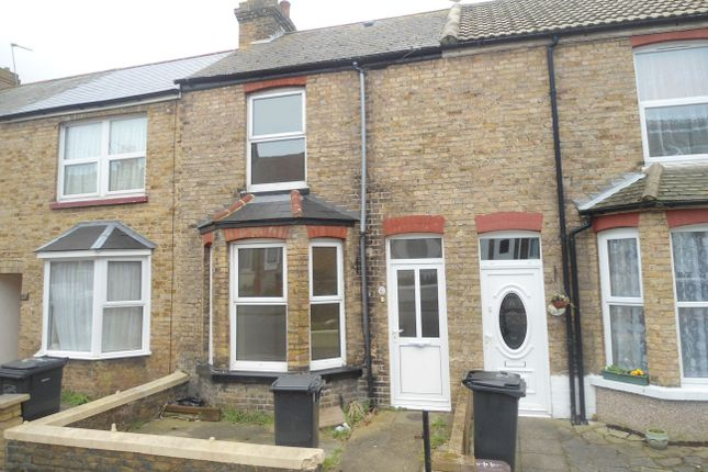 Thumbnail Terraced house to rent in Walpole Road, Margate