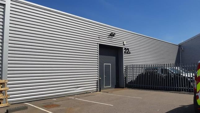 Industrial to let in Unit 22B, Bakers Court, Paycocke Road, Basildon, Essex