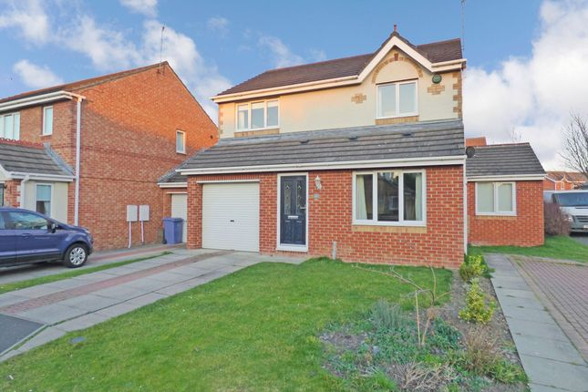 Thumbnail Detached house for sale in Motcombe Way, Cramlington