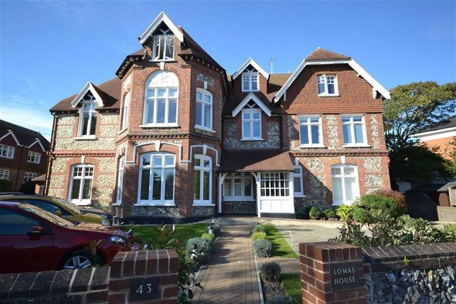 Thumbnail Flat for sale in Lomas House, 43 Wordsworth Road, Worthing, West Sussex