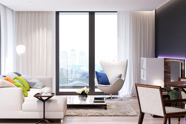 Thumbnail Flat for sale in Ballymore, Brand New, Royal Wharf, London