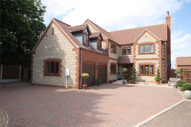 Detached house for sale in Coppice Close, Fenton, Newark, Nottinghamshire.