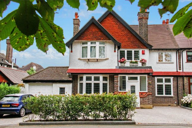 Thumbnail Semi-detached house for sale in Plough Lane, Purley