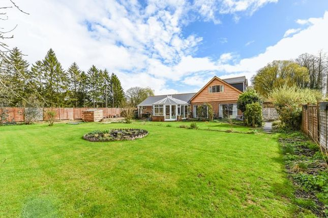 Thumbnail Detached house for sale in Kimbridge, Romsey, Hampshire