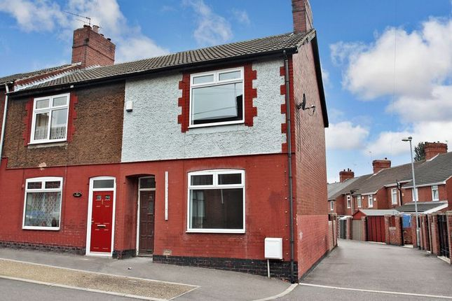 Thumbnail End terrace house to rent in Burton Street, South Elmsall, Pontefract
