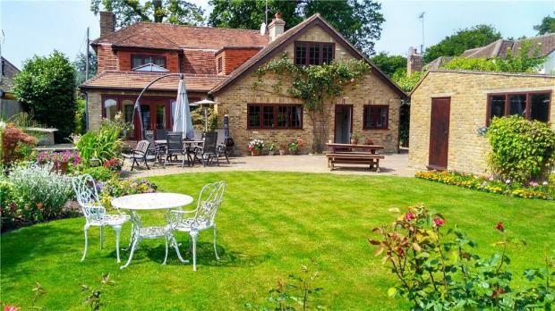 Thumbnail Detached house for sale in Kings Lane, Windlesham, Surrey